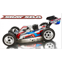 XRAY XB8 - 2015 SPECS - 1/8 LUXURY NITRO OFF-ROAD
