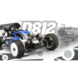 HB D812 Competition 1/8 Buggy Kit