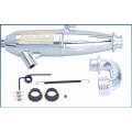 LRP Enduro-46 1/8 Offroad exhaust system EFRA#2076 (1 set)