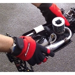ANSWER-RC PIT GLOVES - RED/BLACK