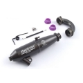 Fastrax 'Pro Race' EFRA 2062 Inline Pipe Set - Hard Coated