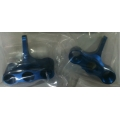 GPM RACING Aluminium F/R KNUCKLE ARM Associated MGT- Blue