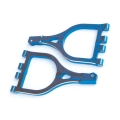 GPM RACING MGT Front and Rear Upper Arms w/ Collars & Pins BLUE