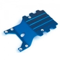 GPM RACING Aluminium Rear Skid Plate for the Associated MGT- Blue