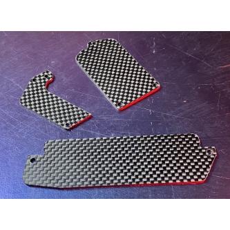 Mugen 2mm Carbon fiber servo tray cover MBX8 / MBX8T