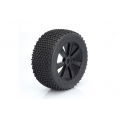 LRP 1/8 TRUGGY TYRE WITH RIMS SET OF 4