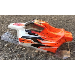 Bittydesign Force body for AE RC8B3 fits also on Xray Xb8 Sworks and Mugen MBX7
