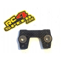 Xray Xb8 4mm carbon fiber break upper plate break with flanged ball bearings