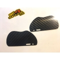 Carbon fibre 2mm Rear mud guards for the XB8 2017 2018 2019 2020 buggy & GTX8