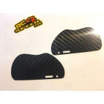 Carbon fiber 1.5mm Rear mud guards for the XB8 2017 buggy