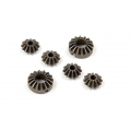 TEAM XRAY Active Diff Steel Bevel & Satellite Gears (2+4) 355130