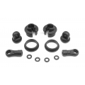 TEAM XRAY 358013 Composite Frame Shock Parts - Wide