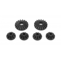 TEAM XRAY Steel Diff Bevel & Satellite Gears (2+4) 355030