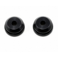 XRAY Aluminum Shock Body Nut For Shock Boot (2) (2009 Spec)