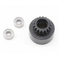 XRAY 17T Clutch Bell With Oversized 5x12x4mm Ball-Bearings